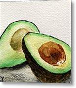 Avocado Metal Print by Prashant Shah