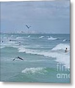 Awesome Day At The Beach Metal Print