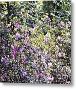 Azaleas In The Forest Metal Print