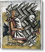Aztec: Life And Death Metal Print