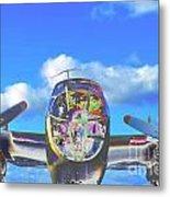 B-25j Jazzed Metal Print