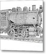 B And O Steam Switcher Metal Print