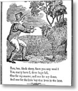 Baa, Baa, Black Sheep, 1833 Metal Print by Granger