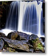 Babcock State Park Waterfall Metal Print