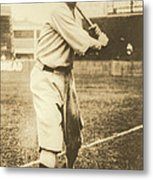 Babe Ruth 1920 Metal Print by Padre Art