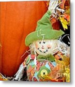 Baby Scarecrow Metal Print