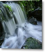 Baby Waterfall Metal Print