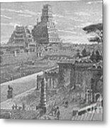 Babylon Metal Print by Science Source