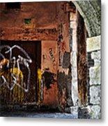 Back Alley In Leon Metal Print