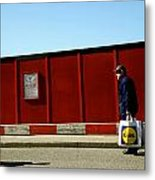Back From The Lidl Walk Metal Print