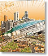 Back In Town Metal Print by Tuan HollaBack
