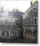Back Of 1860's Mansion Metal Print