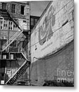 Back Of Historic Louisville Building Metal Print