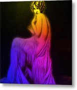 Back To The Twenties Color Metal Print