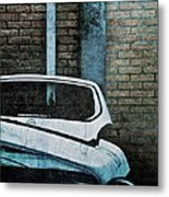 Back To The Wall Metal Print by Odd Jeppesen