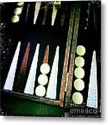 Backgammon Anyone Metal Print