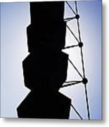 Backlight Structure Metal Print
