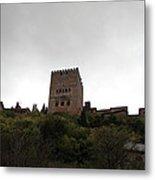 Backlit Castle Metal Print