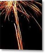 Backyard Fireworks 2012 3 Metal Print