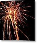 Backyard Fireworks 2012 5 Metal Print
