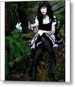 Bad Alice Metal Print
