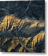 Bad Lands Granada Spain Metal Print