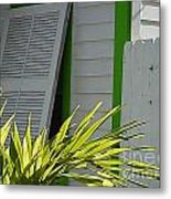 Bahama Conch House Metal Print