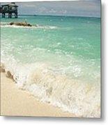 Bahama Waves Metal Print