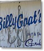 Bait And Tackle Metal Print by Mark J Seefeldt