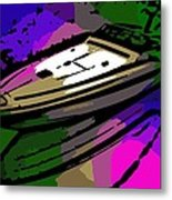 Baja Speed Boat Metal Print