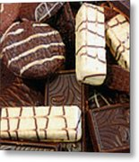 Baker - Who Wants Cookies Metal Print by Mike Savad