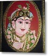 Bal Krishna Metal Print by Asha Nayak