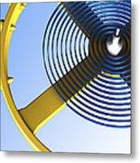Balance Wheel Of A Watch, Artwork Metal Print