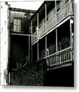Balcony- French Quarter- New Orleans Metal Print