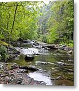 Bald River Gorge Metal Print