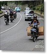 Balinese Transportation Metal Print