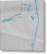 Ballerina 8047 Metal Print