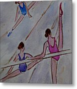 Ballerina Studio Metal Print