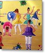 Ballet Class Metal Print