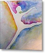 Ballet Leap 1 Metal Print by Carolyn Weir