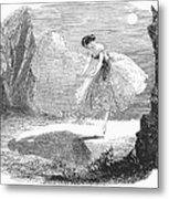 Ballet: Ondine, 1843 Metal Print