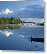 Ballina, Co Mayo, Ireland Morning Metal Print