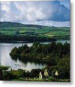 Ballindoon Abbey, Lough Arrow, Co Metal Print