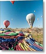 Ballons - 5 Metal Print by Okan YILMAZ