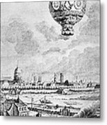 Balloon Flight, 1783 Metal Print