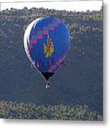 Balloon In Weber Canyon Metal Print