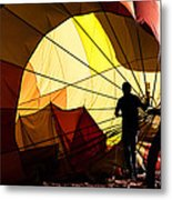 Balloon Recovery Metal Print