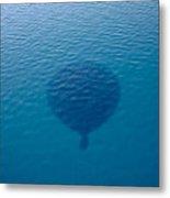 Balloon Shadow Metal Print