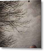 Balloons In The Pines Metal Print