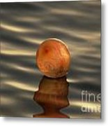 Balloons On The Water Metal Print